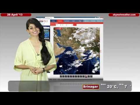 April 28, 2013 - Skymet Weather Report for India