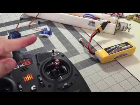 DX6 Head Tracking Pan AND Tilt---setup and configuration