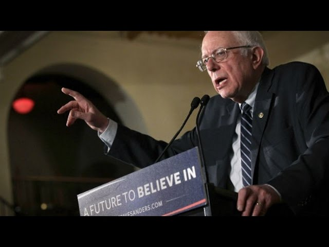Bernie Sanders leads by double digits going into New Hampshire