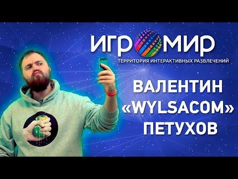 ИгроМир 2015. Интервью с Валентином «Wylsacom» Петуховым
