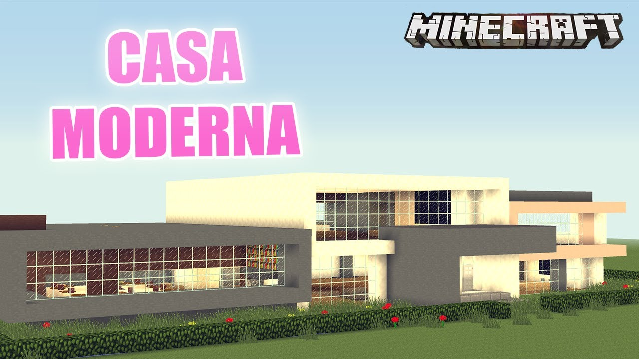 Minecraft casa moderna para ricos mapa de suscriptor for Casa moderna 8