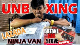 BUTANE GAS STOVE REVIEW | TAGALOG UNBOXING
