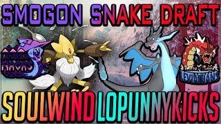 Smogon Snake Draft II-Stage 2, Week 4: SoulWind vs Lopunny Kicks (SM OU) w/Dokkerich