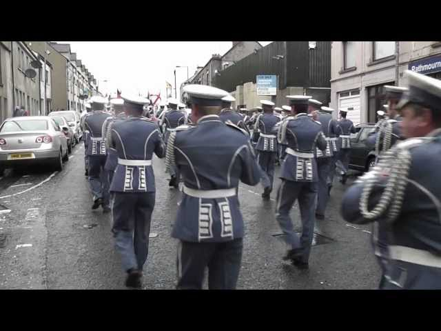 Pride Of The Hill Flute Band Begin Their Parade. 2012 (2)
