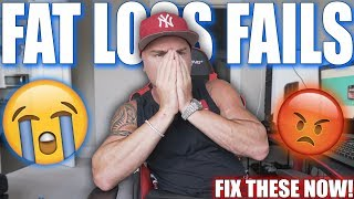 Top 8 Reasons Why Clients Fail At Fat Loss | STOP DOING THESE!!