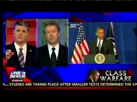 Sen. Rand Paul Joins Sean Hannity on Fox News- February 2, 2015