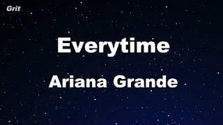 Download Lagu everytime - Ariana Grande Karaoke 【With Guide Melody】 Instrumental Gratis STAFABAND