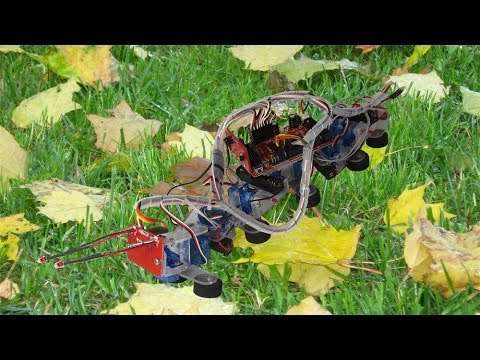 Happy Robotic Caterpillar from Global Specialties...the R500