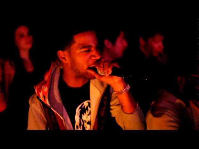 Kid Cudi Impromptu Performance at 1 OAK NYC 4/7/11