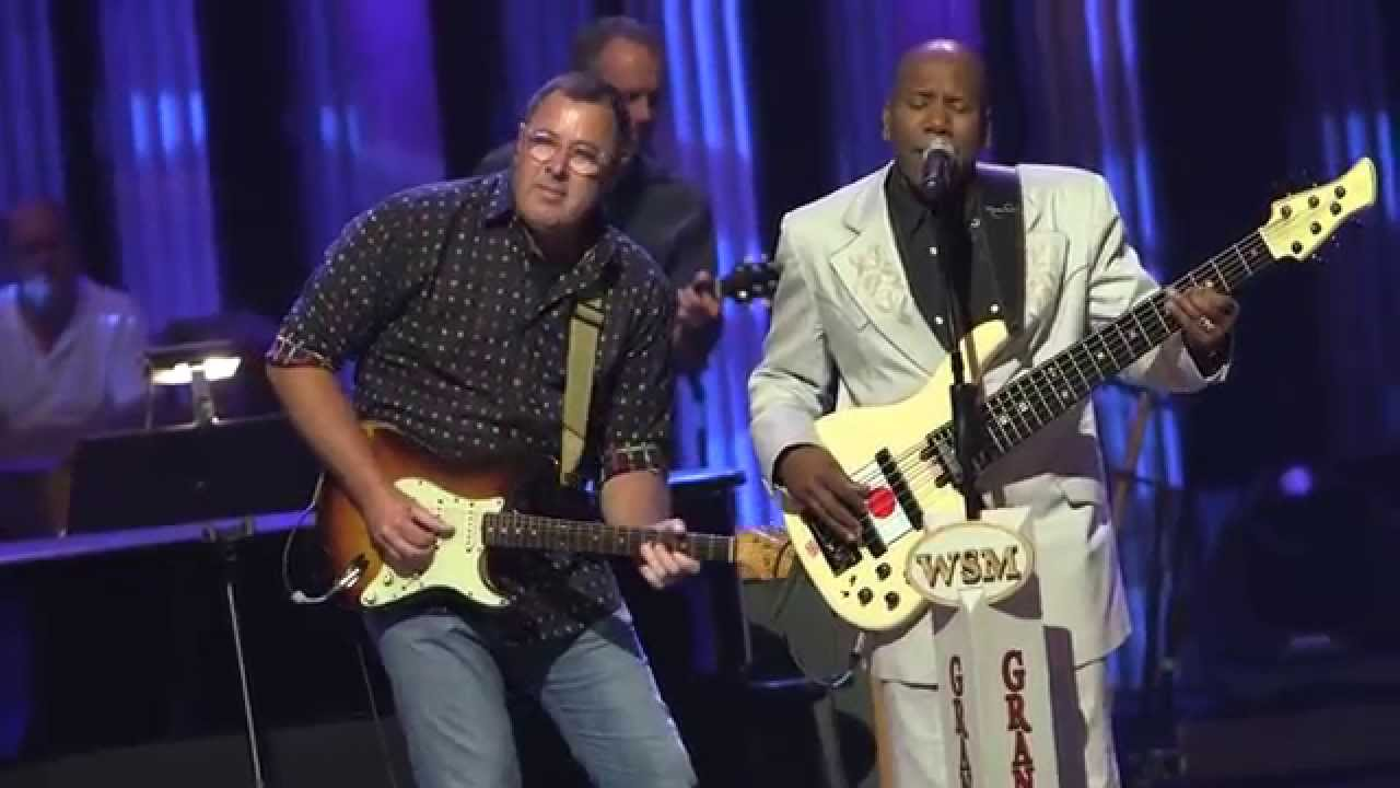 Nathan East and Vince Gill at th