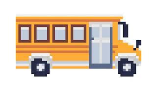 Pinta el bus unicorn