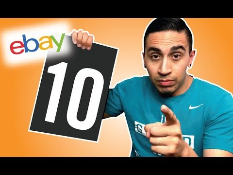 10 STEPS YOU MUST TAKE BEFORE YOU START SELLING ON EBAY (Advice for Newbies)