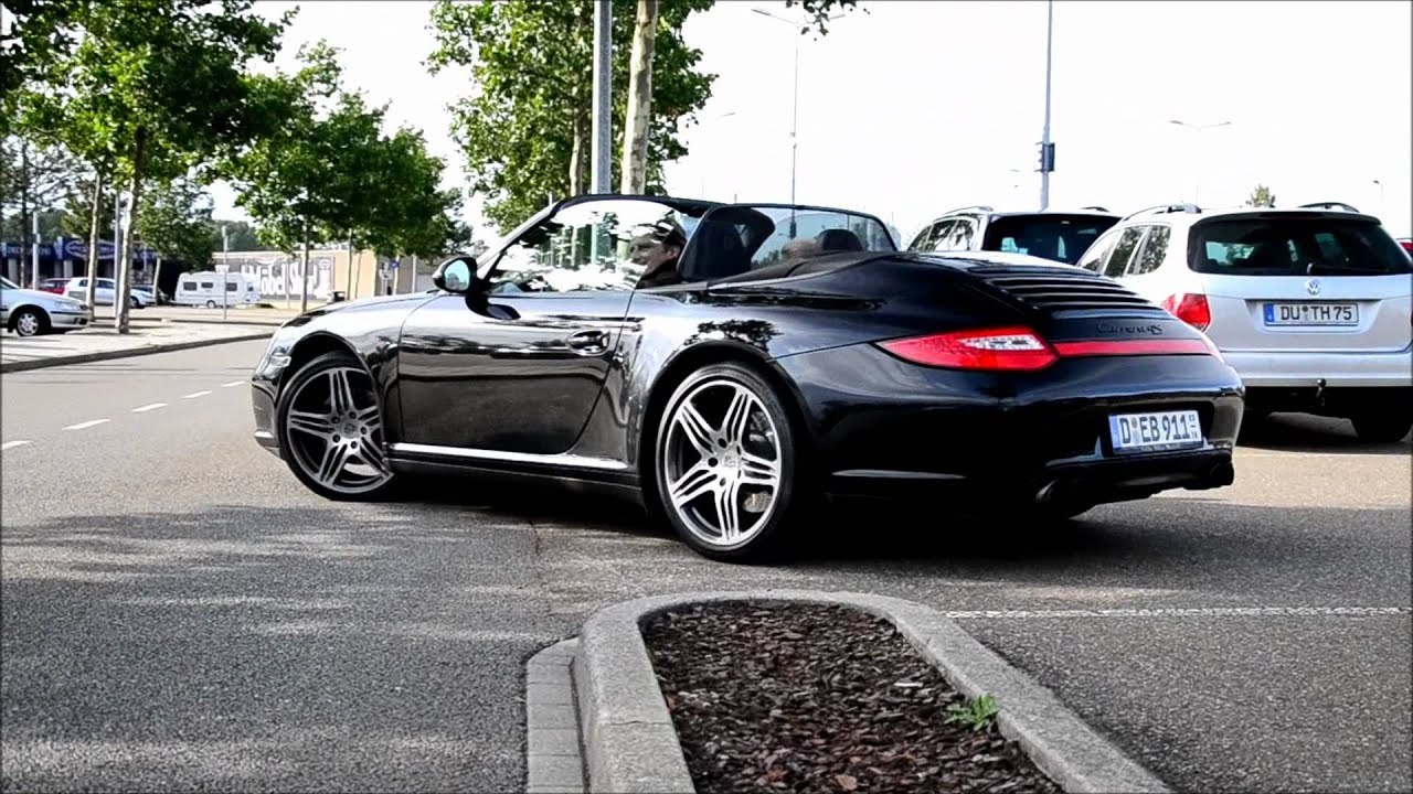 Porsche 997 Carrera 4s Cabriolet Mkii Drive Away Youtube