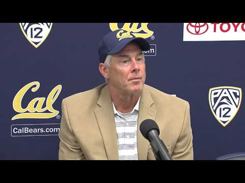 Cal Football: Art Kaufman - Arizona Post Game (9/20/14)