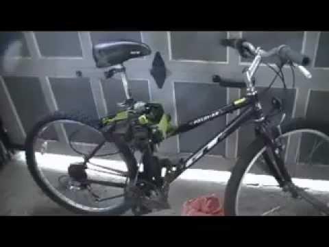 How to Make a Chainsaw Bike