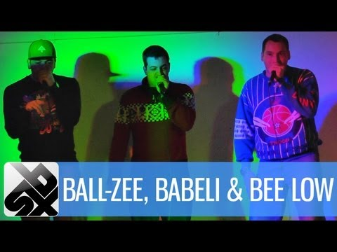 Roboter Jam |&#160;Ball-Zee, Babeli &amp; Bee Low | SBX Sessions