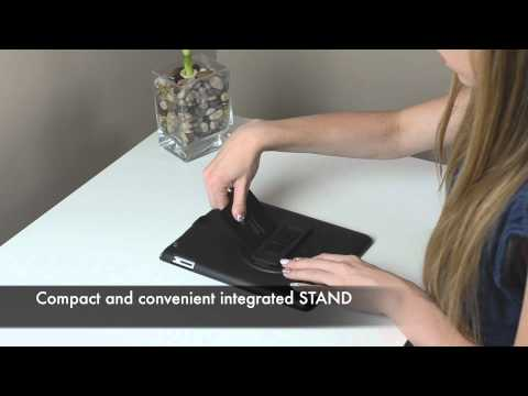SlateSHIELD™ for iPad 2 & 3rd Generation - Hold, Rotate, Stand, Protect™