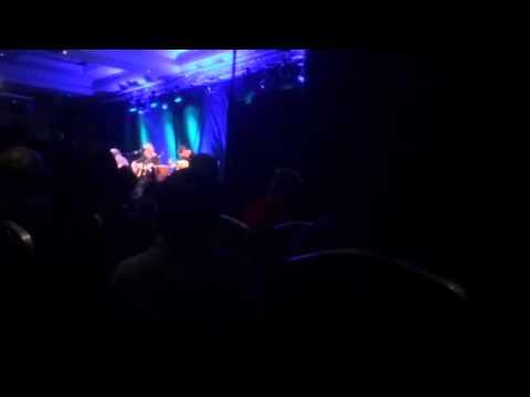 Christy Moore LIVE singing Nancy Spain in Letterkenny 2nd October 2015