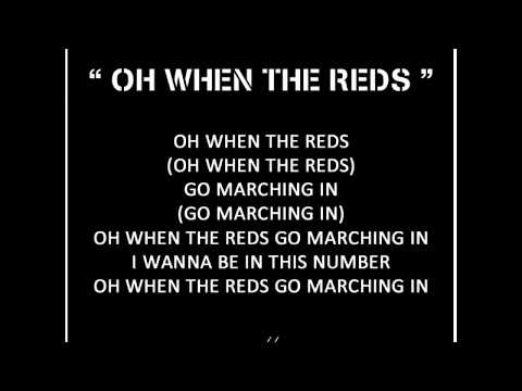 Oh When The Reds ~ Persis Solo Chants
