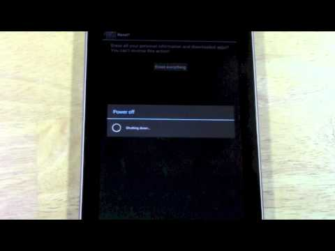 Nexus 7: How to Reset Back to Factory Settings