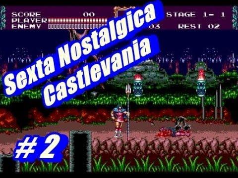 Galera Sessão NOSTALGIA do Castlevania The New Generation
