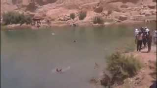 Mysterious Lake Appears In The Middle of Tunisian Desert - Gafsa Miracle Lake
