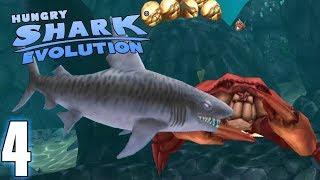 LE REQUIN TIGRE ET LE ROI DES CRABES - Hungry Shark Evolution #4 (FR)