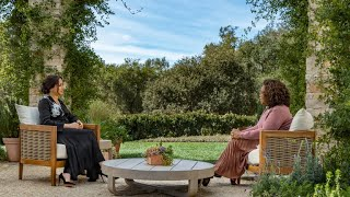 Oprah With Meghan And Harry First Look  It Has Been believably Tough