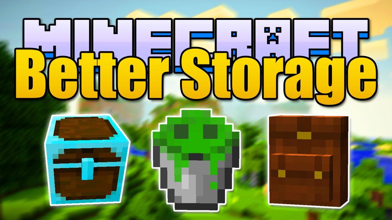 Minecraft Better Storage Mod