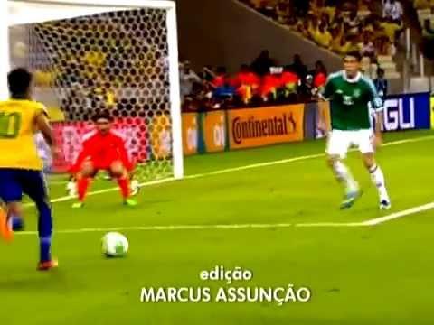 Neymar Neymar Neymar Brasil 2 x 0 México 19/06/2013