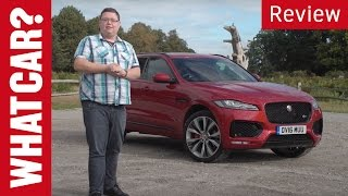 2017 Jaguar F-Pace review   What Car?