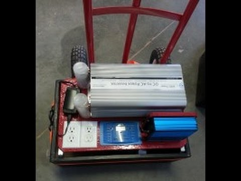 Portable Solar Generator: The SolarMax 3300