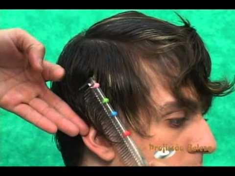 corte de cabelo masculino desfiado e com mechas   {  COM SYLVIO RESENDE  }   !!!