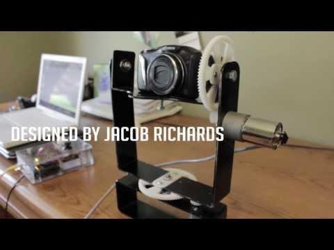 Diy Motorized Pan Tilt Camera Mounting System Part 2