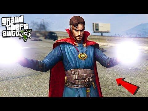DR STRANGE MOD w/POWERS - GTA 5 Mods