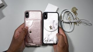 Christmas Giveaway Alert Lameeku iPhone X and XS Max Wallet Cases #TechieElf