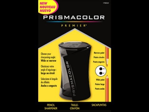 prismacolor product review {sharpener}
