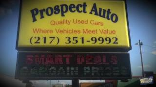 Prospect Auto ..Buy here Pay here .. Inhouse Financing .. Champaign, Illinois, Quality used vehicles