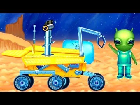 Çizgi Film – Uzay Araçları – Keşif robotu-Spirit Rover
