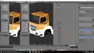 Como Fazer Um Caminhão do Zero - Blender ETS2