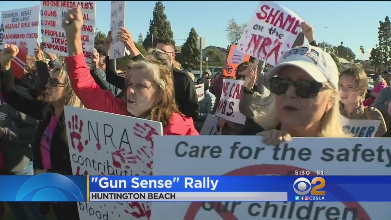 OC Parents, Teachers Demand Tougher Gun Laws, NRA Response At 'Gun Sense' Rally