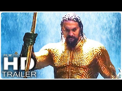 AQUAMAN Trailer 2 Italiano (2018)