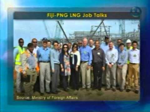 Fiji PNG Mission Looks into LNG Project