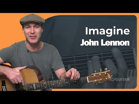 Imagine - John Lennon (Beginner Song Guitar Lesson BS-992) How To Play
