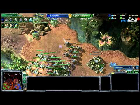 TvP -Kas vs Forte(PL) - Starcraft 2 HD polski komentarz Heart of the Swarm