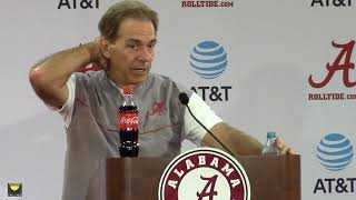 Nick Saban remembers his days at the gas station