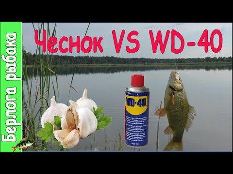 WD40 VS Чеснок на карася, что лучше ? Улучшают клев на рыбалке?