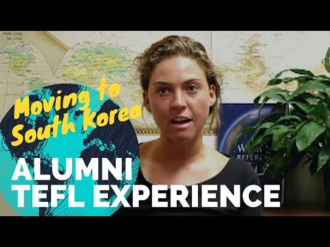 Jenn just finished her TEFL Certification and tells abou the course and going to South Korea