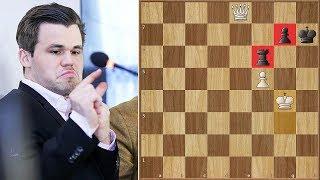 """""""I Don't Believe in Fortresses""""   Carlsen vs Topalov   Gashimov Memorial (2018)"""