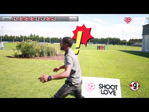 Shoot for Love Challenge : Patrice Evra, Juventus F.C.